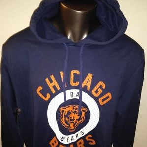 Chicago Bears Da Bears Dry Fit Pullover Hoodie NEW